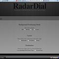 写真: Operaスピードダイヤルエクステンション:Radardial(設定)
