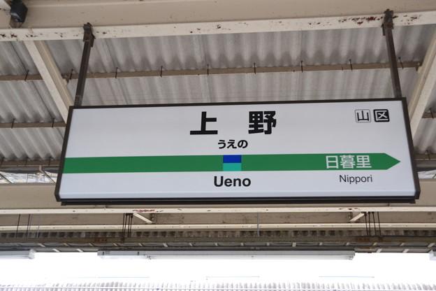 10番線駅名標 [常磐線 上野駅]