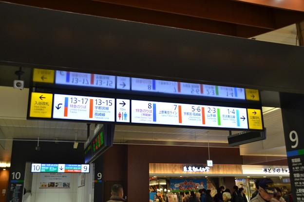 乗り換え案内 [上野駅]