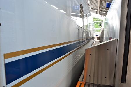 帯(N700系7000番台)@鹿児島中央駅[8/14]