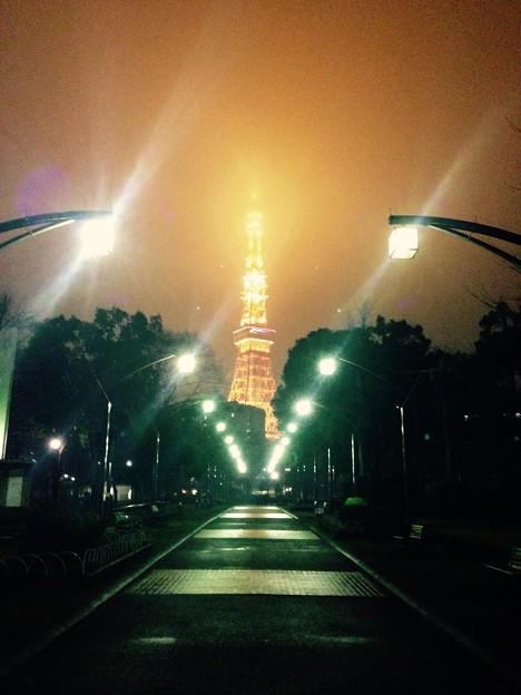 tokyo tower street