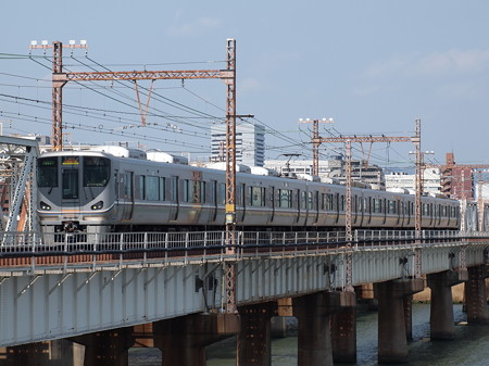 225系丹波路快速 東海道本線新大阪~大阪