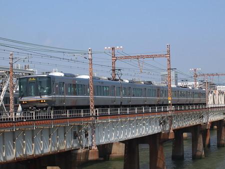 223系回送 東海道本線新大阪~大阪