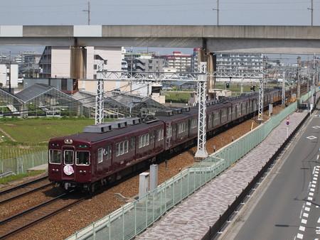 阪急3300系準急 阪急京都線茨木市~南茨木02