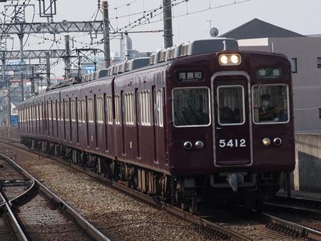 阪急5300系普通 阪急京都線茨木市駅03