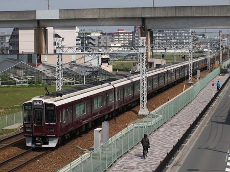 阪急9300系特急 阪急京都線茨木市~南茨木03