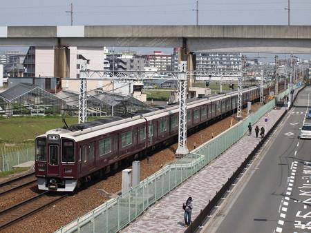 阪急9300系特急 阪急京都線茨木市~南茨木06