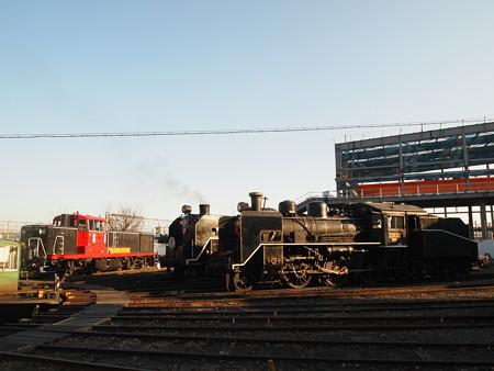 C56とC61とDE10 梅小路蒸気機関車館