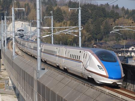E7系はくたか 北陸新幹線新高岡~金沢02