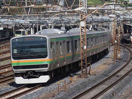 E231系普通 東北本線上野~尾久02