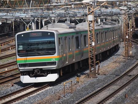 E231系普通 東北本線上野~尾久03