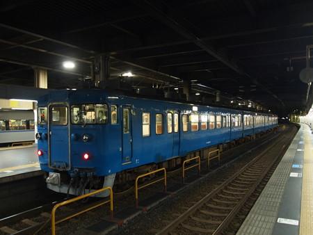 413系普通 北陸本線金沢駅
