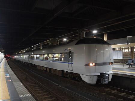 683系特急サンダーバード 北陸本線金沢駅
