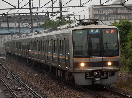 207系普通  福知山線伊丹駅01