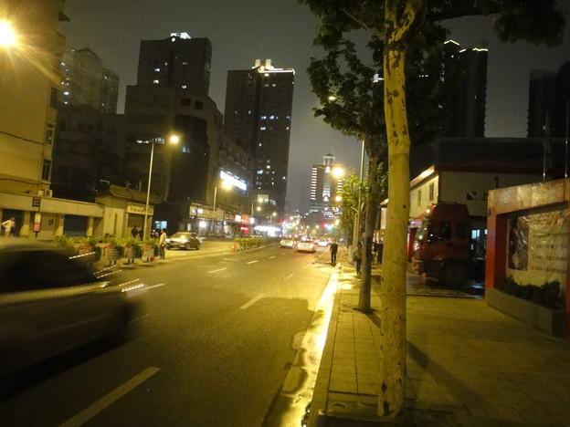 常徳路の夜景(上海)