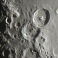 Photos: 口径500mmで月を直接焦点撮影 150524