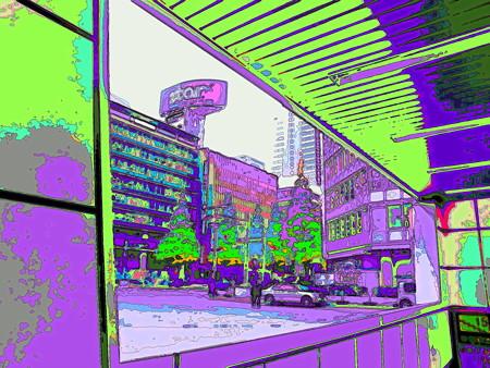 新宿駅西口バスターミナルにて-01d