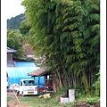 Photos: 軽トラのある風景 ~竹林のあるお庭~