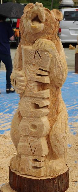Photos: IMGP0592 日本チェンソーアート競技大会in東栄2015その2