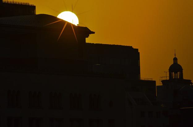 落日「みなとみらい」