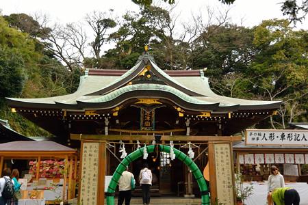 江ノ島神社の境内