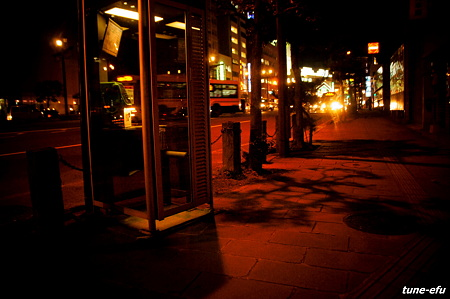 公衆電話の夜