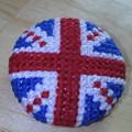イギリス国旗刺繍バッジ