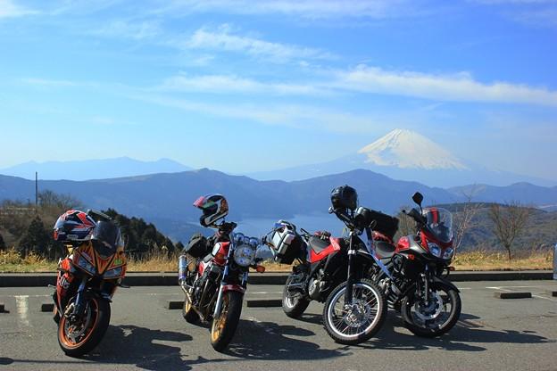 富士とbike