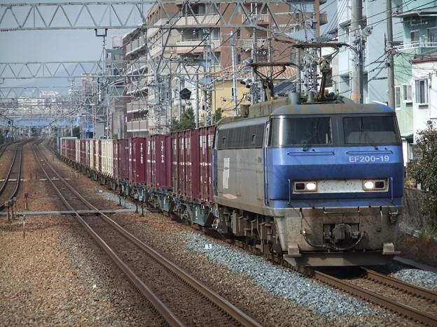 Photos: EF200-19+コキ