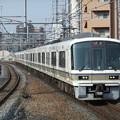 Photos: 大阪環状線221系 NA424編成他8両編成