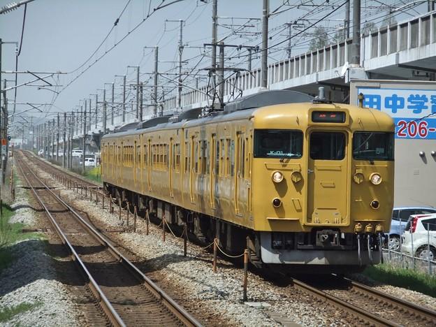 山陽線115系1000番台 K-01編成