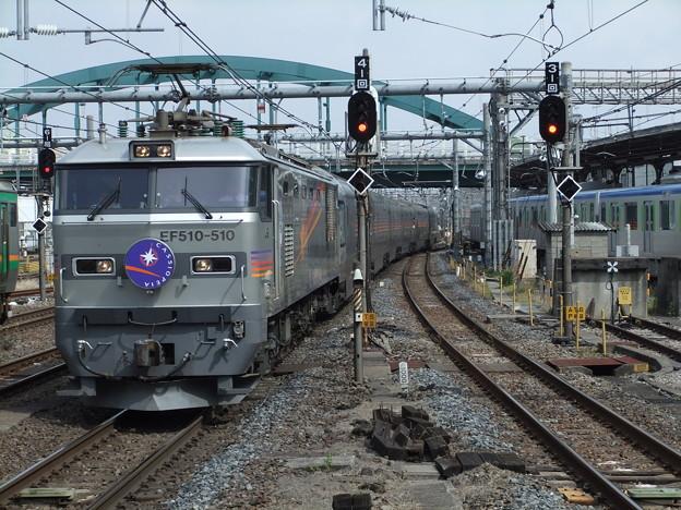 Photos: EF510-510+E26系【寝台特急カシオペア】