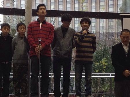 20111225早稲田大学米式蹴球部納会