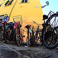 街かどの自転車