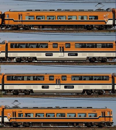 近鉄30000系30209F(V09)海側側面 2011.11.13