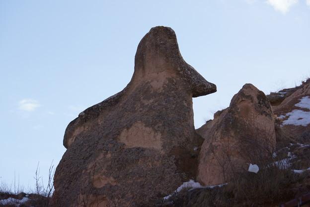 ナポレオンハット岩 @カッパドキア