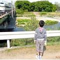 Photos: 直立不動