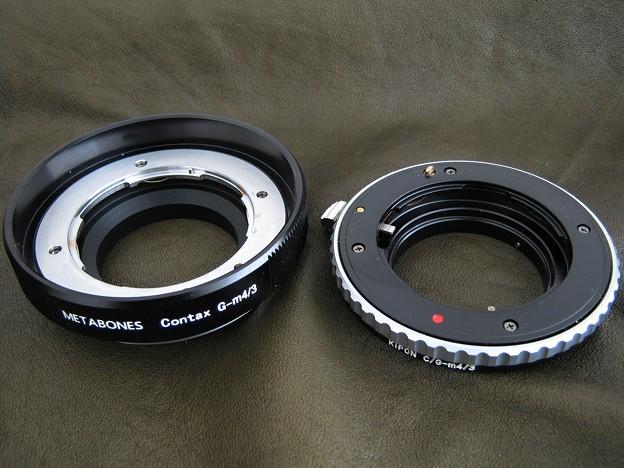 写真: Metabones Contax G マウントアダプターを買ってみた_5
