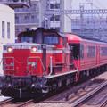 Photos: 【08】環状線に真っ赤な珍客!