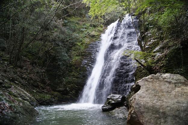 黄谷の滝.和気