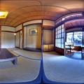 伊東市 東海館 360度パノラマ写真(2) 菖蒲の間 HDR