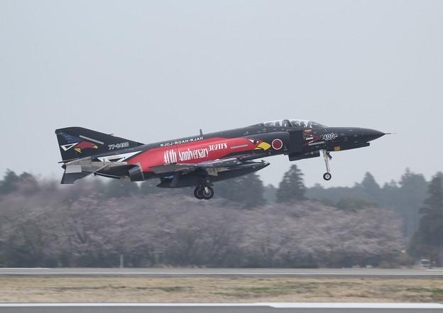 F-4EJ改_302SQスペマ@百里基地20150403