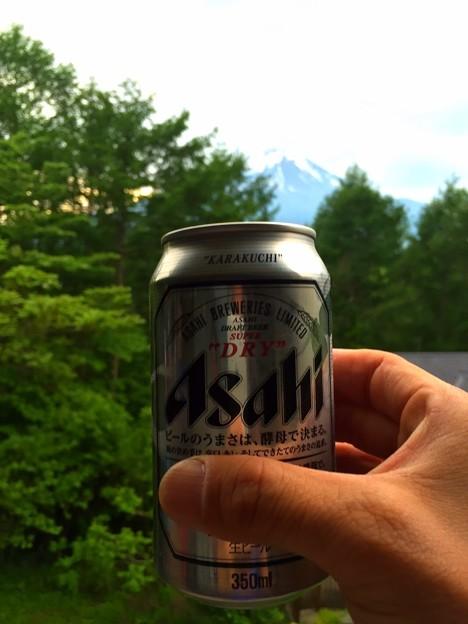 150523 ビール & 富士山