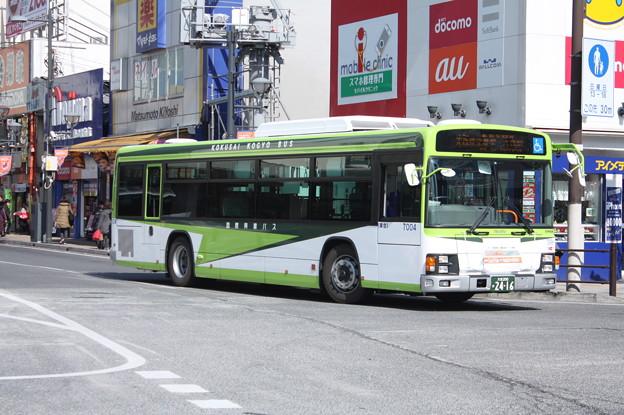 国際興業バス いすゞ・エルガ 7004号車