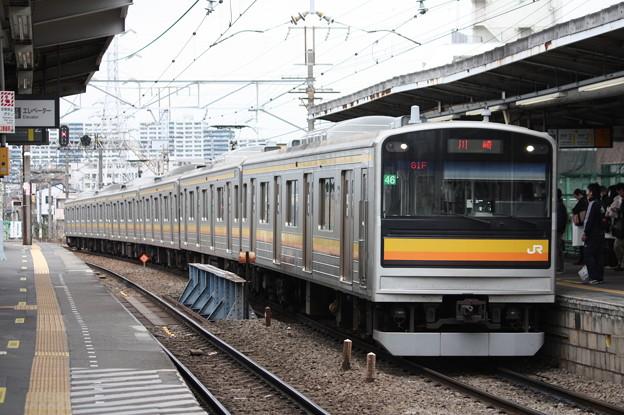 南武線 205系1200番台ナハ46編成