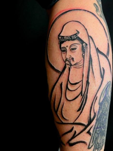 観音tattoo