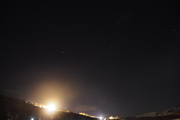オリオン座  オリオン大星雲  シリウス