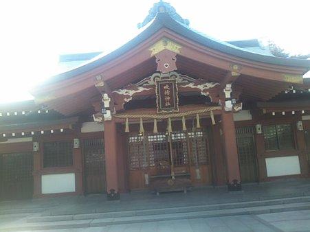 吹き上げ神社