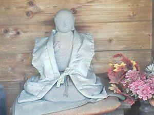 写真: 第54番大師像(景観寺)
