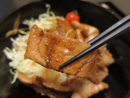 粋菜庵しなの トンテキ丼(全国ご当地どんぶりまつり限定) 肉アップ